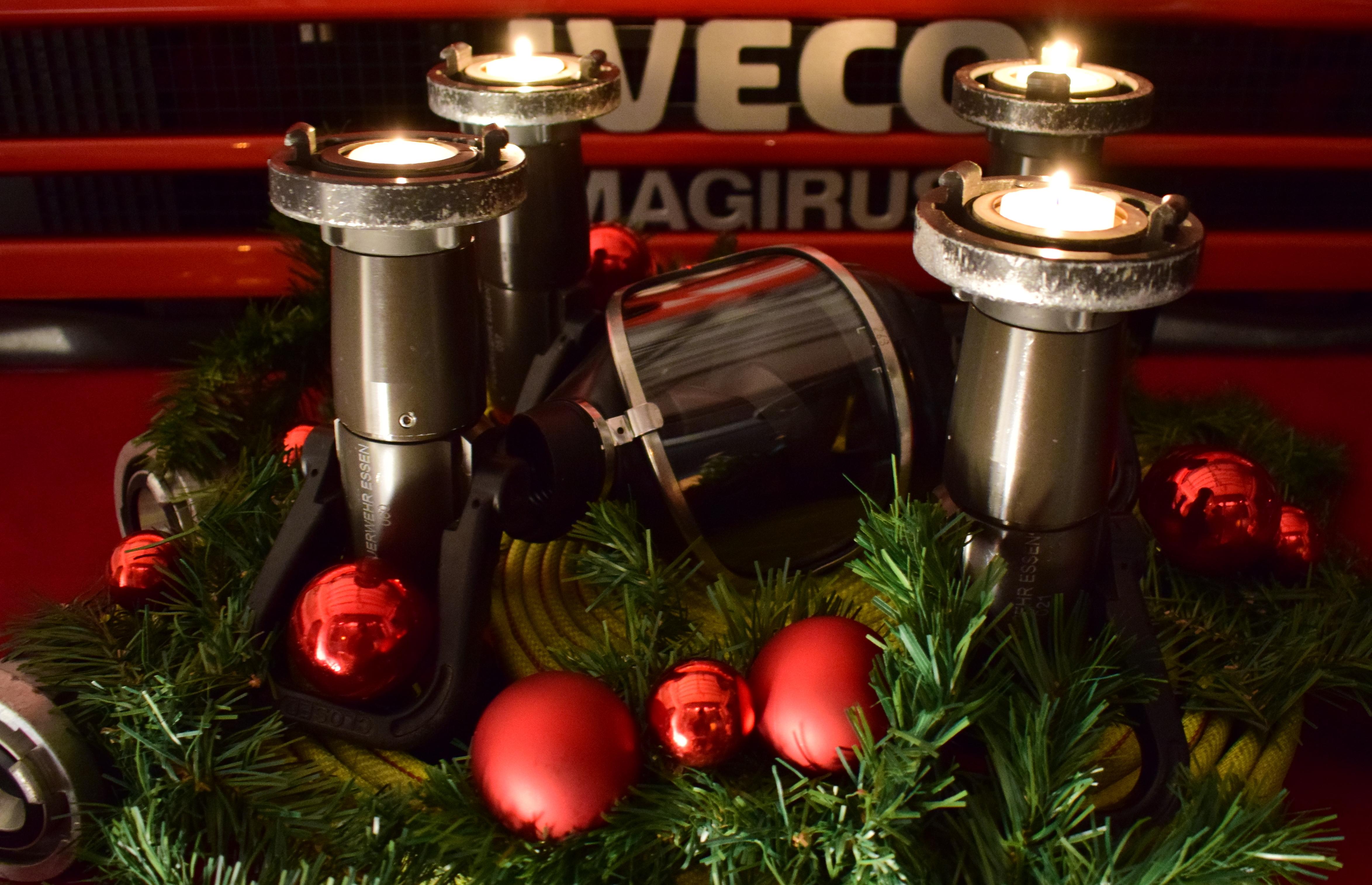 Weihnachtsbaum Kaufen Essen.Die Adventszeit Freiwillige Feuerwehr Essen Margarethenhöhe